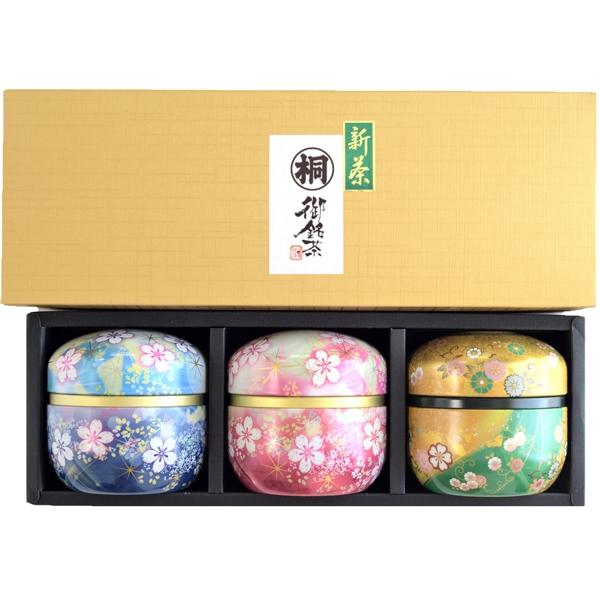 鈴子缶静岡丸子新茶3個セット